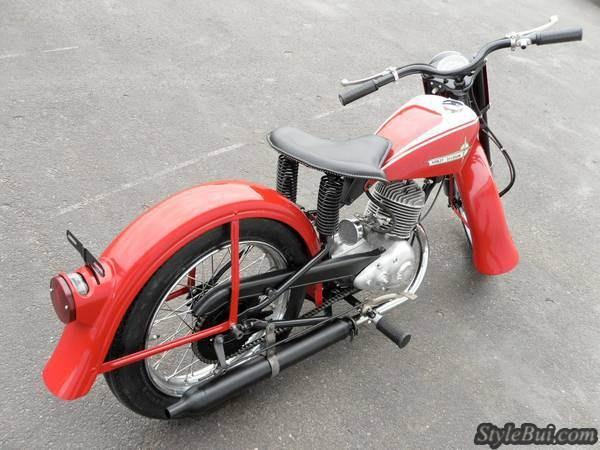 Xe cổ Harley Davidson Pacer 1962 175cc