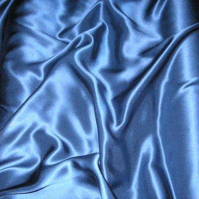 chất liệu vải cobalt blue satin silk