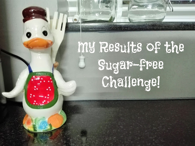 Results of sugar free challenge skinny