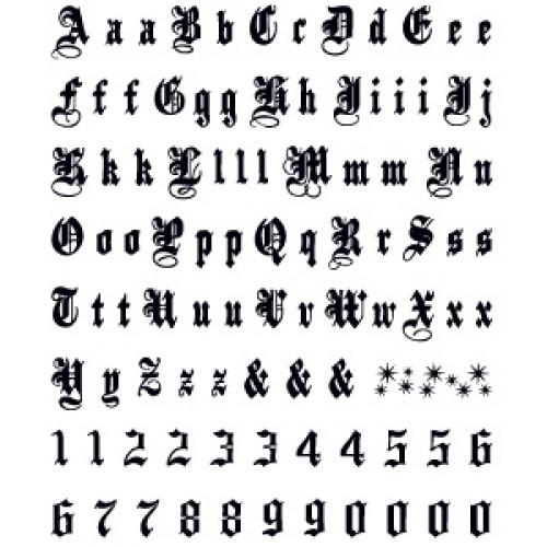 TETOVAZE GALERIJA: Tetovaze slova
