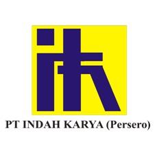 Logo PT Indah Karya (Persero)