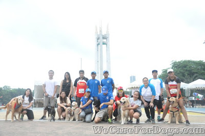 Philippine Golden Retrievers with the Anderson Foundation - #RunFurLife2016