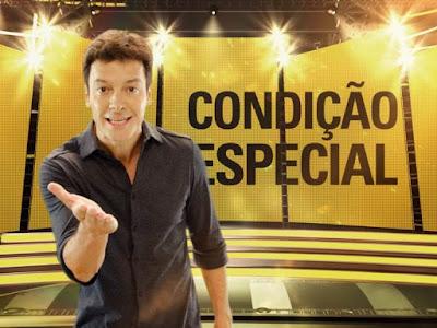 Rodrigo Faro fazendo propaganda