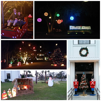 Christmas Tallahassee Crawfordville Florida