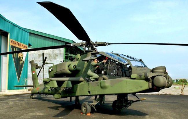 Heli Apache TNI AD
