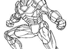 Catatanku Anak Desa Gambar Mewarnai Iron Man
