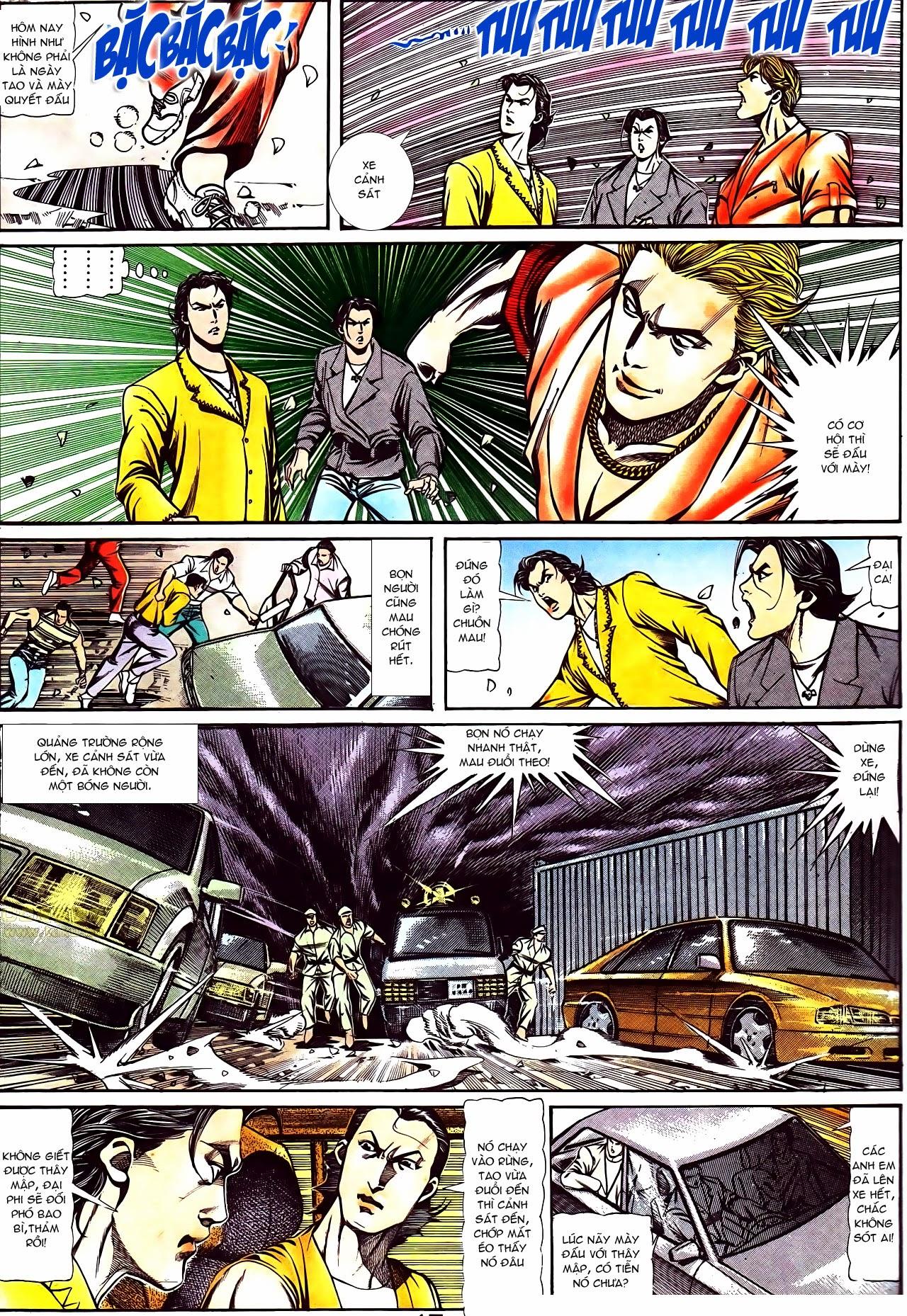 Người Trong Giang Hồ chapter 116: bình minh ló dạng ái tình tan vỡ trang 11