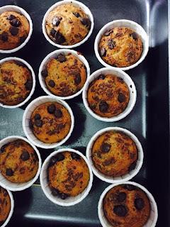 Cara Buat Muffin Pisang Coklat