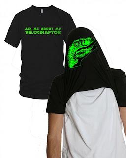 Diseño de camiseta ingeniosa con  dinosaurio