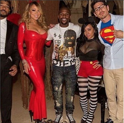 """Tiny Says She Wasn't Forced To Take Photo With Floyd Mayweather: """"Mariah Didn't Make Me"""""""