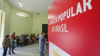 Ministério retira mais de 20 Farmácias populares na PB