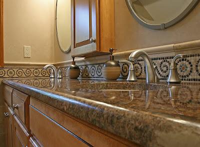 Lavatory Tile Design Ideas