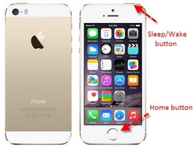 Cara screenshot iphone 5s untuk menangkap Layar dengan teknik berbeda
