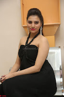 Priyanka in Sleeveless Black Slim Dress Spicy Pics ~  Exclusive 03.JPG