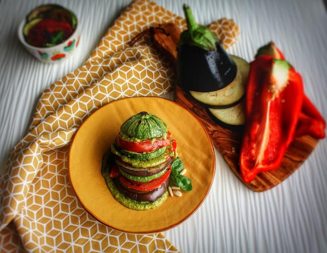 verdure gligliate con crema al basilico e pinoli.jpeg