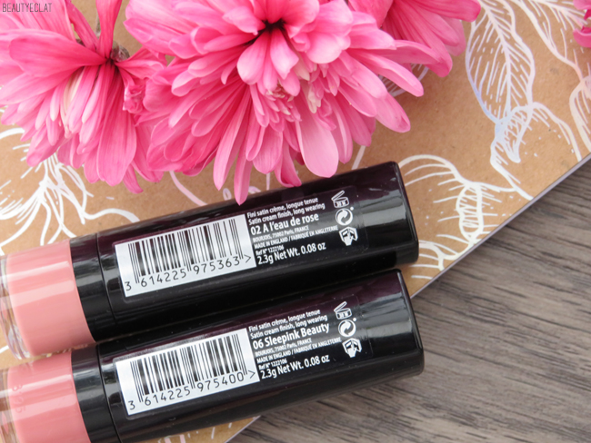 bourjois rouge fabuleux a leau de rose sleepink beauty
