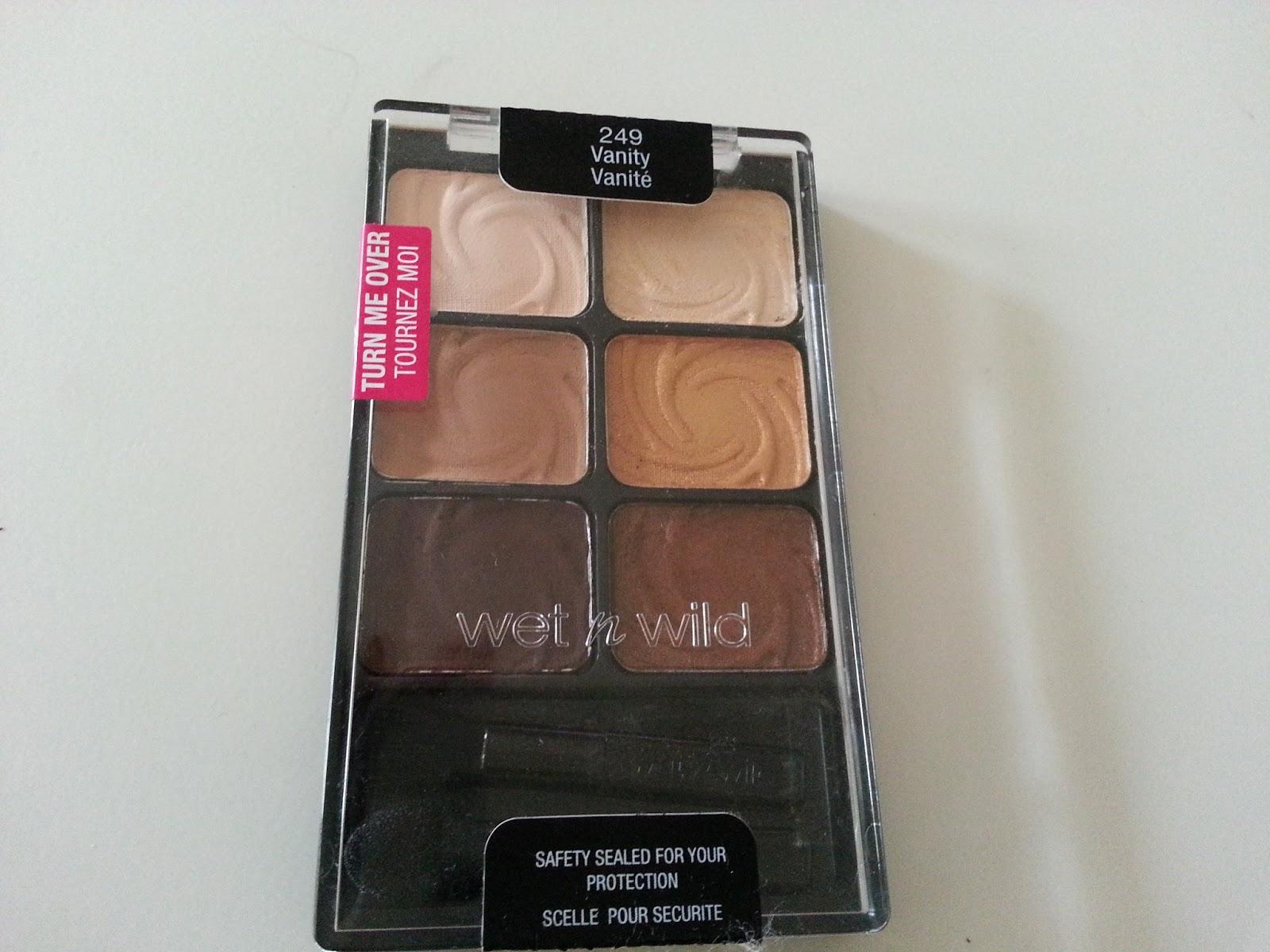 Wet n wild palette in vanity. dupes for mac 2017