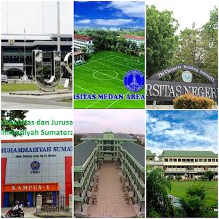 35 Universitas Terbaik di Sumatra Utara yang Paling Banyak diminati