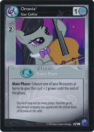 My Little Pony Octavia, Star Cellist Canterlot Nights CCG Card