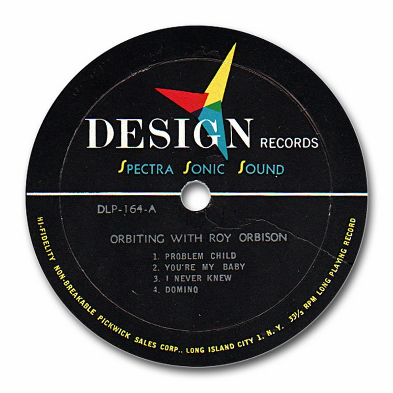 Roy Orbison And Bristow Hopper Orbiting With
