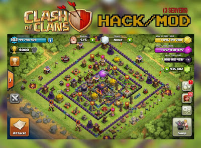 clash of clans mod hack thunderbolt