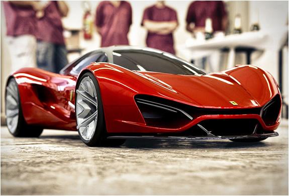 2013 Cars Ferrari Concept Ezri 2014
