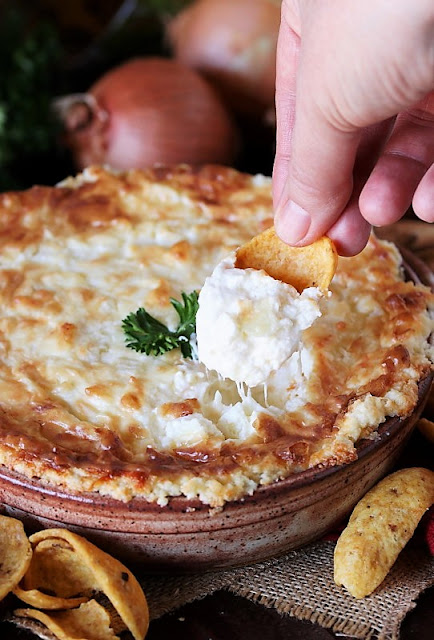 Hot Onion Souffle Dip Image