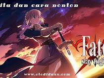 Cerita Lengkap dan Cara Nonton Anime Fate Series (Stay Night/UBW)