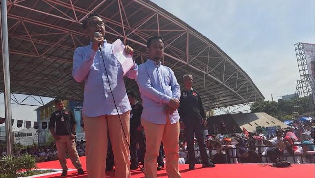 [Pilgub Sulsel 2018] Nurdin Abdullah-Sudirman Sulaiman Deklarasi