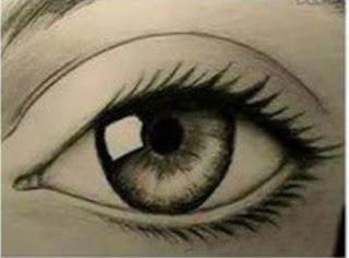 Cara Melukis Bola Mata Dengan Pensil