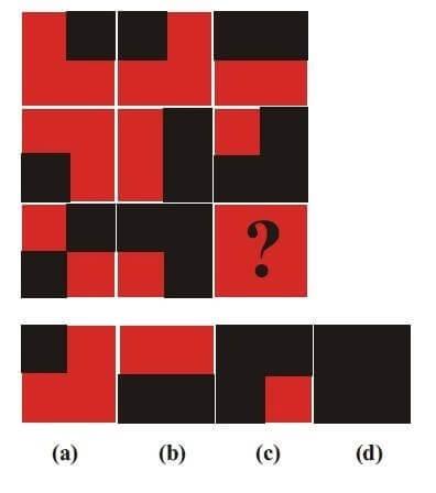 Non Verbal Reasoning Puzzle