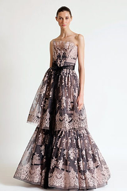 Brautkleider Mode Online: Designer Abendkleider 2012