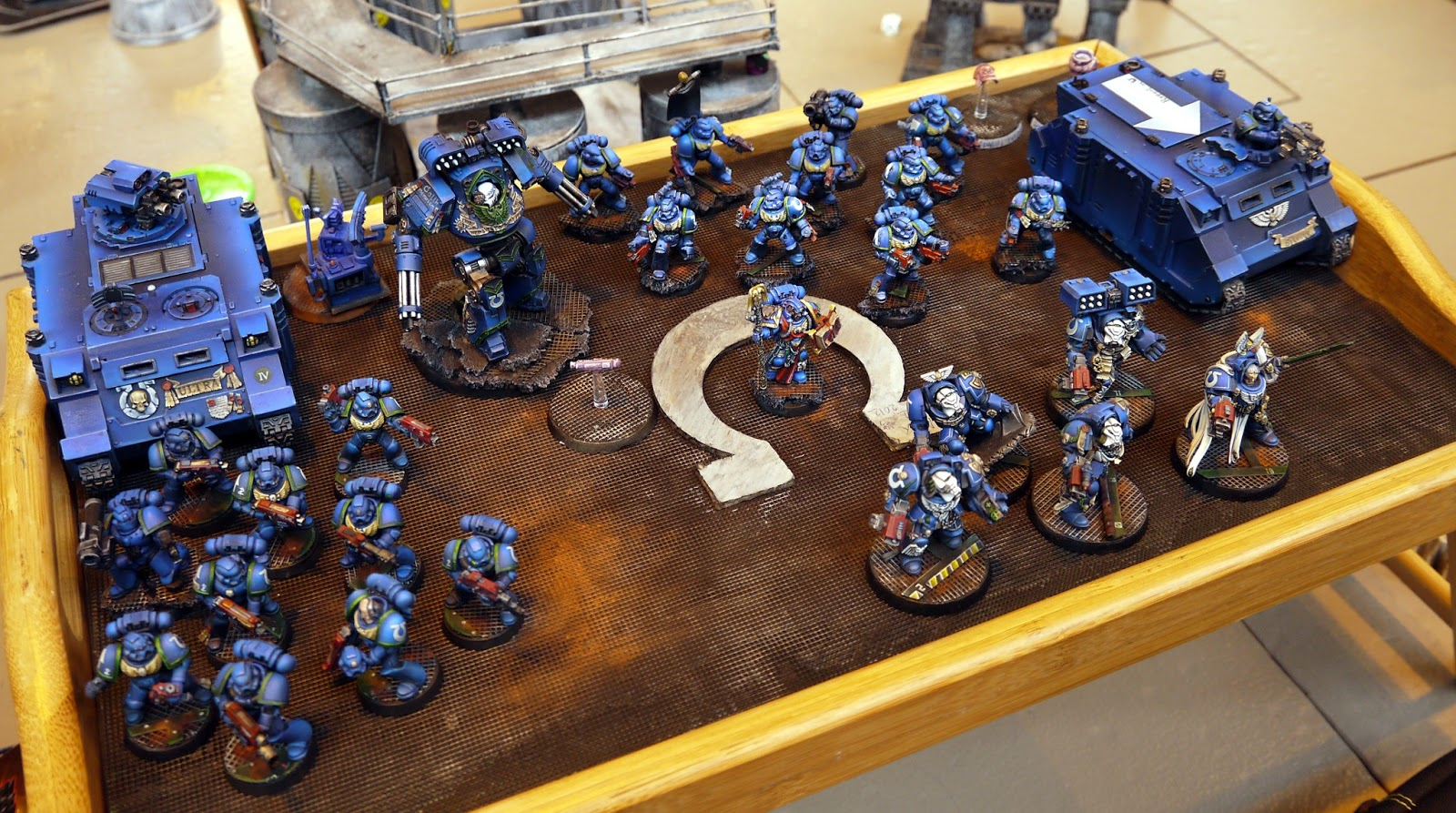 Ultramarines Army Rule 37: TOZ - ...