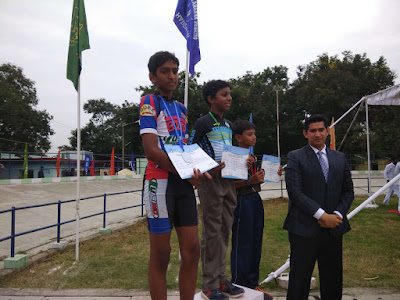 abhiram under 17 race silver won medal quad skating race