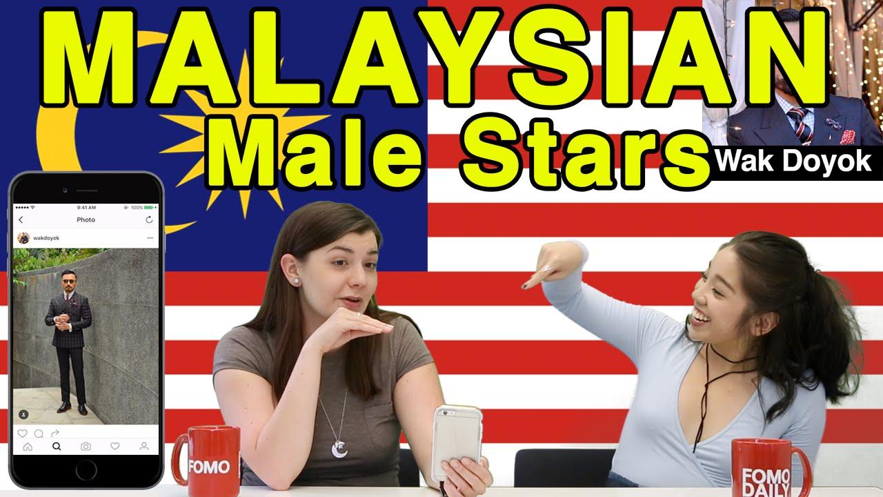 Reaksi Mat Salleh Pada Selebriti Lelaki Malaysia