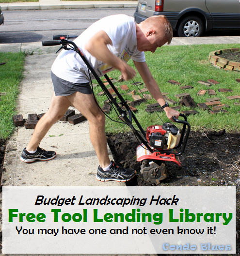 budget landscaping hack rent garden tools from a free tool library