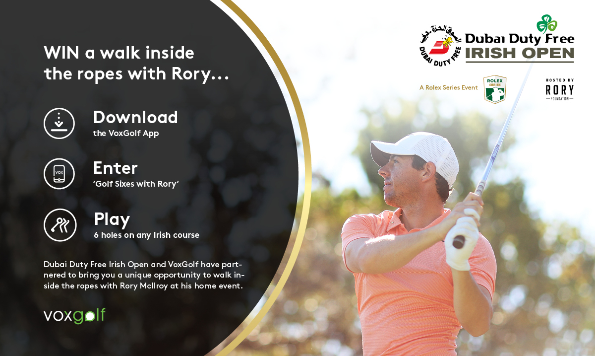Golf Sixes with Rory - at the DDF Irish     - Hooked: Ireland's Golf Courses