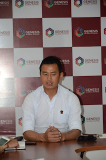 Ace footballer 'Baichung Bhutia' shares insights at Genesis Conversation