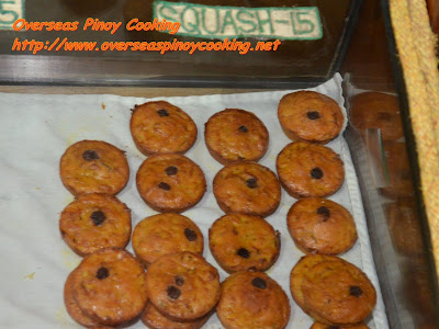 Organic Home Baked Squash Muffins