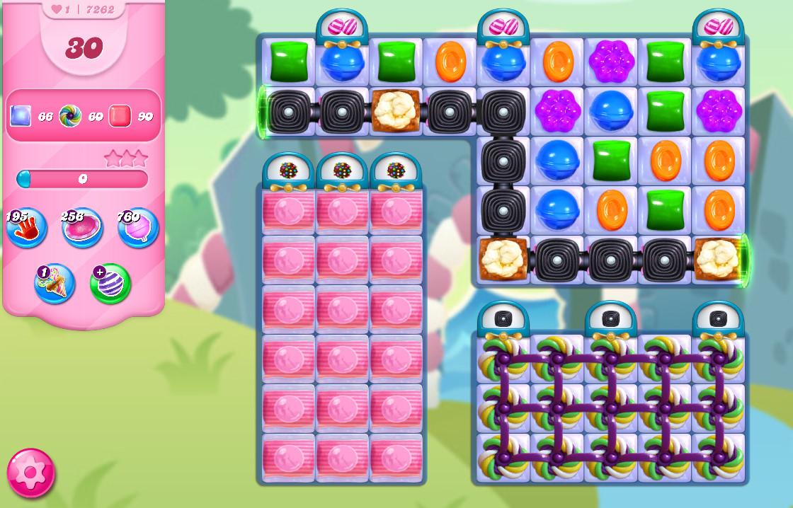 Candy Crush Saga level 7262