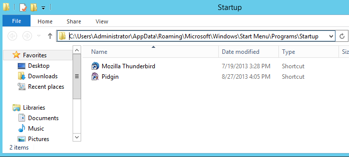How to Add Startup programs in Windows 7/Windows 8