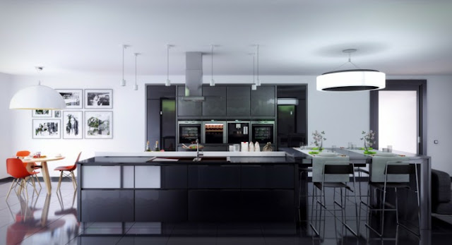 the kitchens designs decorated dining colors variations
