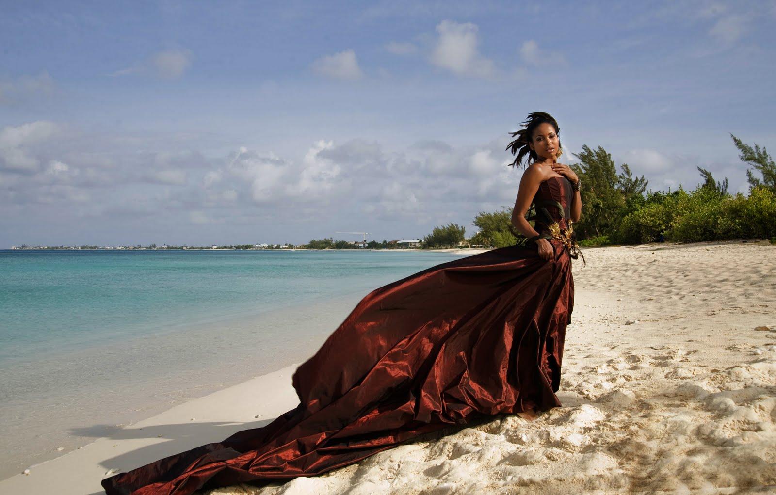 Caribbean Fashion: EL FASHION: Caribbean Fashion Designers: UZURI