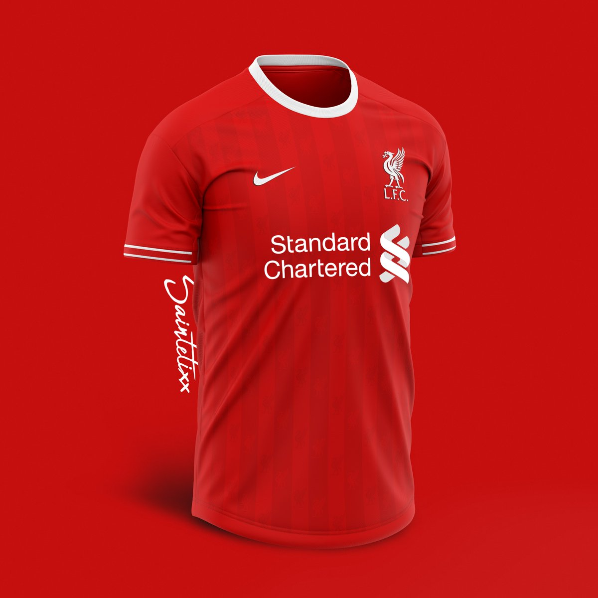 quality design 9d01f 2f8a6 6 Nike Liverpool Home, Away & Third Kit Concepts By ...