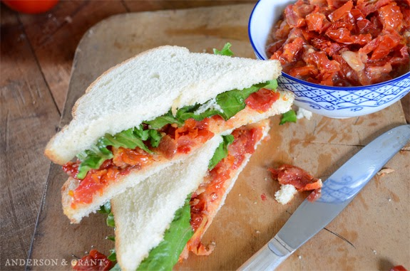 Sun-dried Tomato and Bacon Sandwich Spread