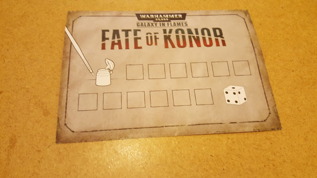 fate of konor progress card
