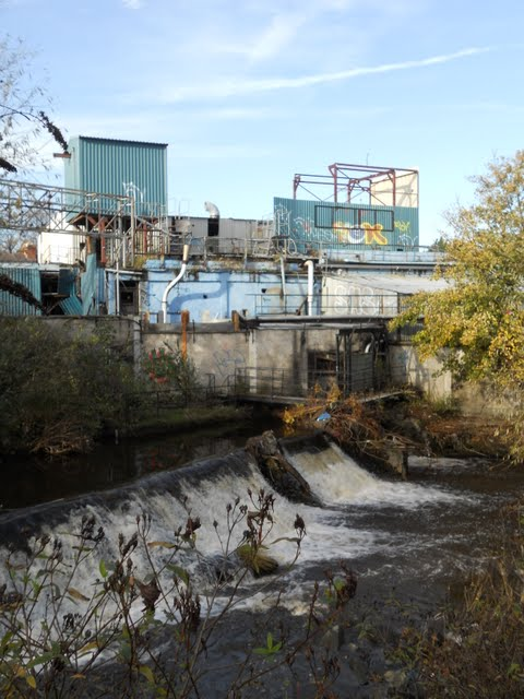 Walk the River Dodder in Dublin - Shuttered Plant