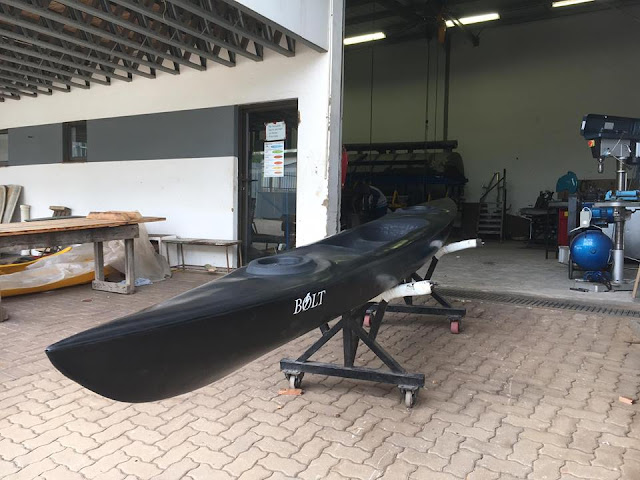 Bolt High Speed Legend Kayak on-route to a happy client!
