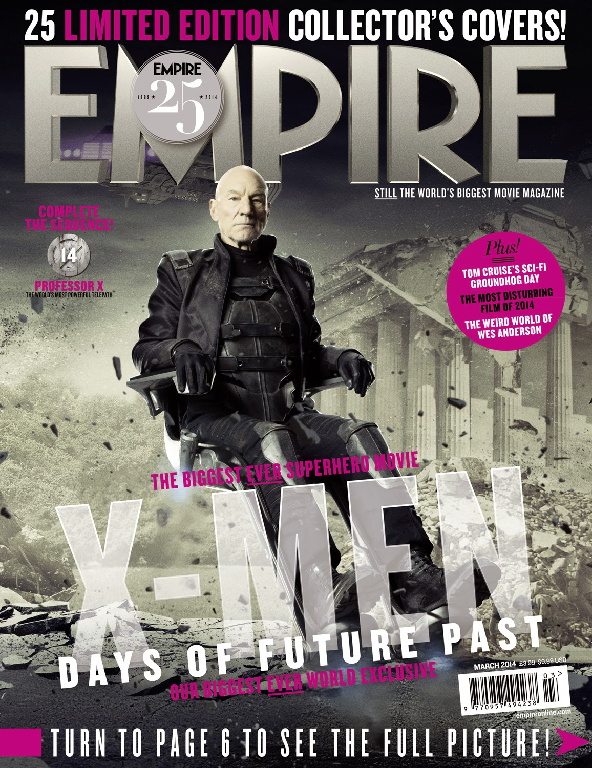 X-Men Days of Future Past Covers from Empire Magazine Now ...