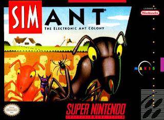 Sim Ant [ SNES ]
